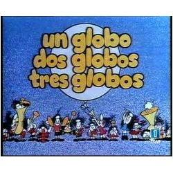 """La letra del programa infantil """"Un globo, dos globos, tres globos"""", la compuso Gloria Fuertes, que además era asidua cuentacuentos en la emisión."""