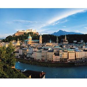 La bella ciudad de Salzburgo, en Austria, donde transcurre la acción de la novela Cinco.