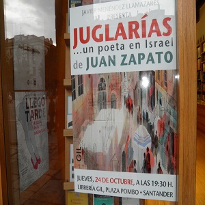 Vidriera de librería GIL en Santander,