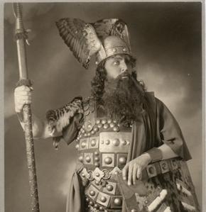 Wotan en El anillo del Nibelungo de Wagner