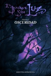 portada de la novela El bosque sin luz