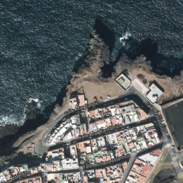 Esta es la zona dónde uno de los protagonistas encuentra los 150 kilos de cocaína.