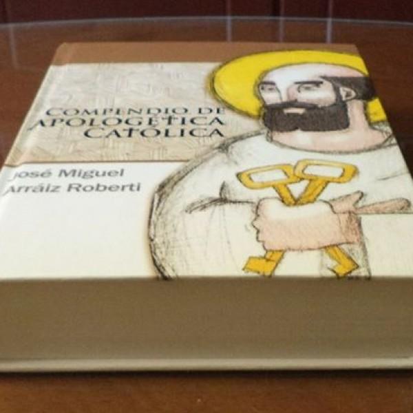 Fotografía de la edición tapadura del Compendio de Apologética Católica