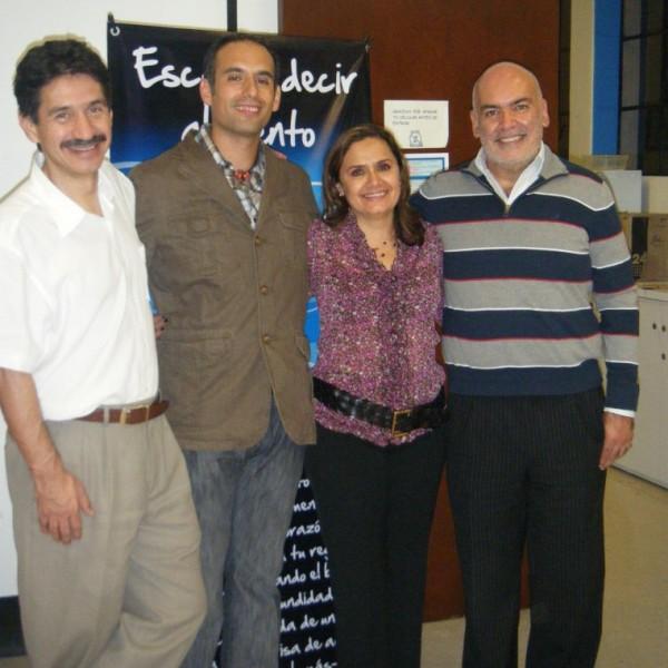 Afortunado entre amigos y maestros. Pepe Merino, Mónica Esquinca y Paco Ramírez, de los grandes de la PNL y el Coaching en México