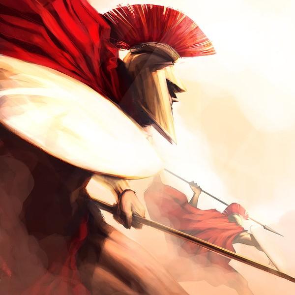 Salonius es un guerrero sin igual, líder indiscutible de los neorromanos dentro y fuera del campo de batalla.
