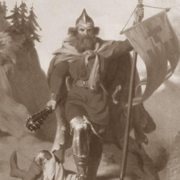Il·lustració de la llegenda d'Otger Cathaló