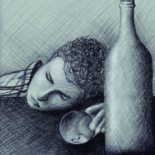 El Alcohol lo ATRAPO y sus ideales partieron al infinito. El alcohol destruyó su mundo, sus ideales....