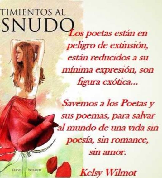 Salvemos los Poetas y sus poemas, para salvar al mundo de una vida sin poesía, sin romance, sin amor.