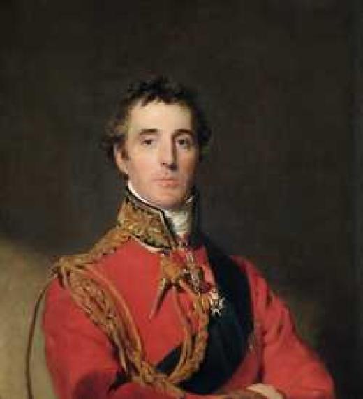 El duque de wellington aparece al final de su vida en esta novela