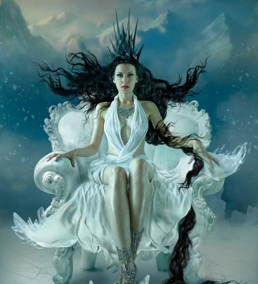 Una de las ilustraciones mágicas del libro