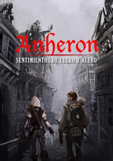 Portada Anheron I: Sentimientos de Cuero y Acero