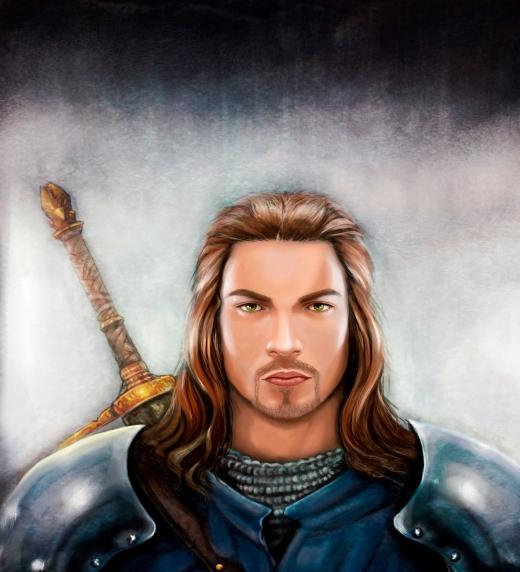 Valiant Wedford, uno de los personajes principales de Leyendas de Erodhar