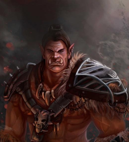 Khorgar, uno de los personajes de Leyendas de Erodhar.