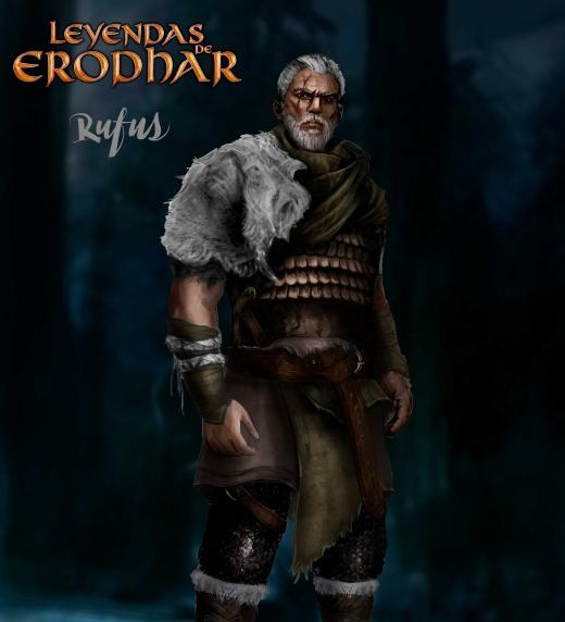 Rufus Vanthryn, uno de los personajes principales de Leyendas de Erodhar.