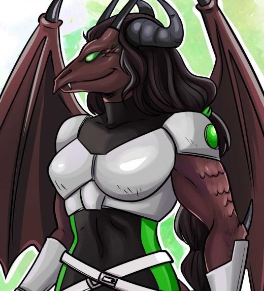 Dragohia, Onírice del dragón. Personaje de la novela