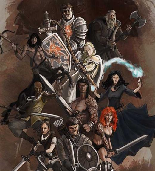 Personajes protagonistas y secundarios de la saga Anheron