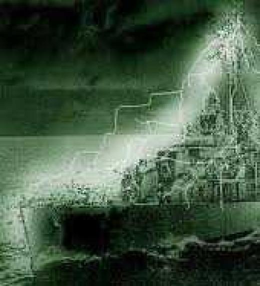Desaparición del buque U.S.S. Eldrigde en 1943 en Filadelfia