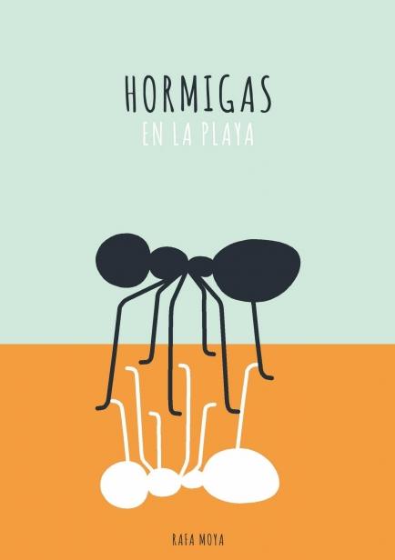 Hormigas en la playa por Rafa Moya