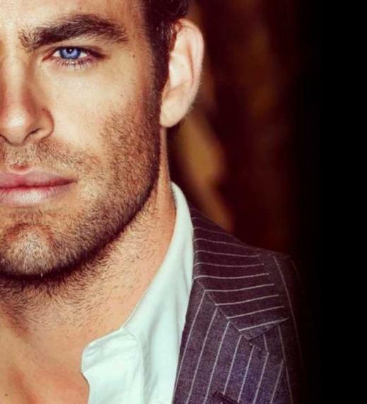 Su mirada azul