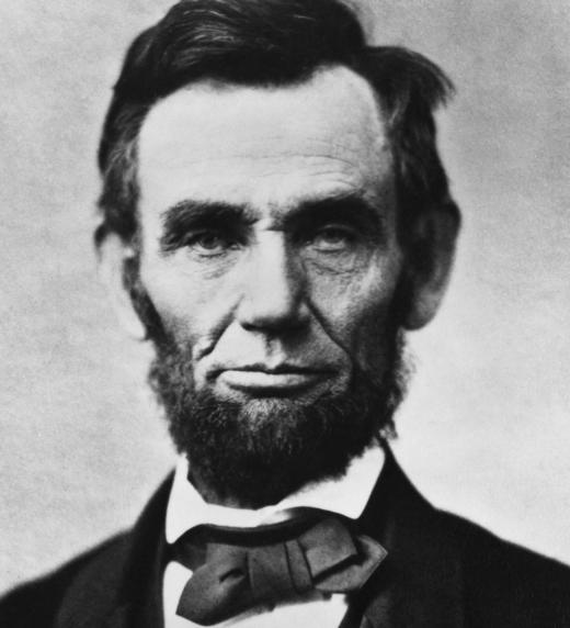President dels Estats Units, Abraham Lincoln, que va abolir l