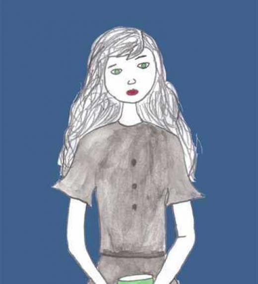 Luna Vlad, tiene diez años y es la protagonista de la novela Entre Tinieblas.