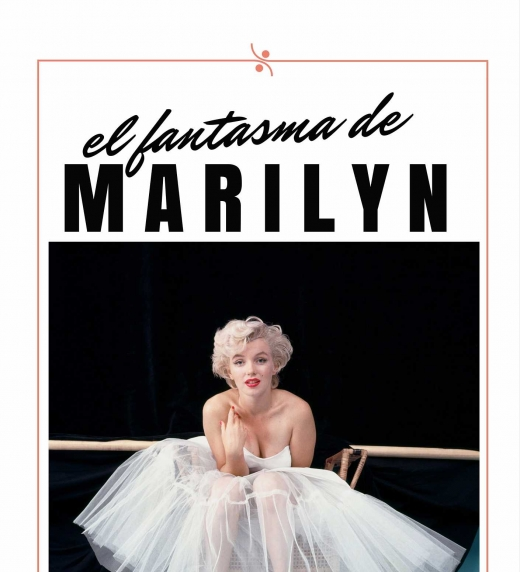 Portada de la novela EL FANTASMA DE MARILYN a la venta en Amazon en ebook y en papel.