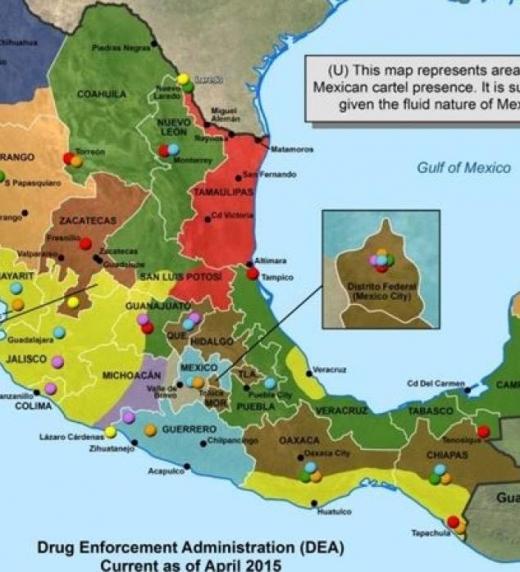 El precio de la droga sube a medida que los narcotraficantes, la acercan a la frontera de México con los EE. UU., su valor alcanza un 500% con respecto al precio original y una vez vendida; el dinero debe ser lavado para volver al sur a los productor