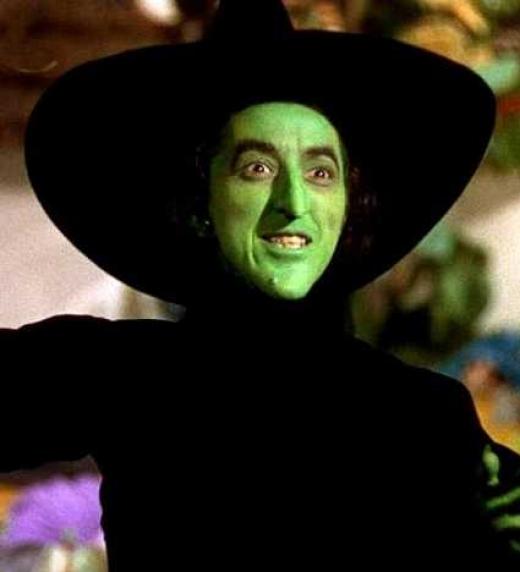 Fotogrfía Bruja El mago de Oz.