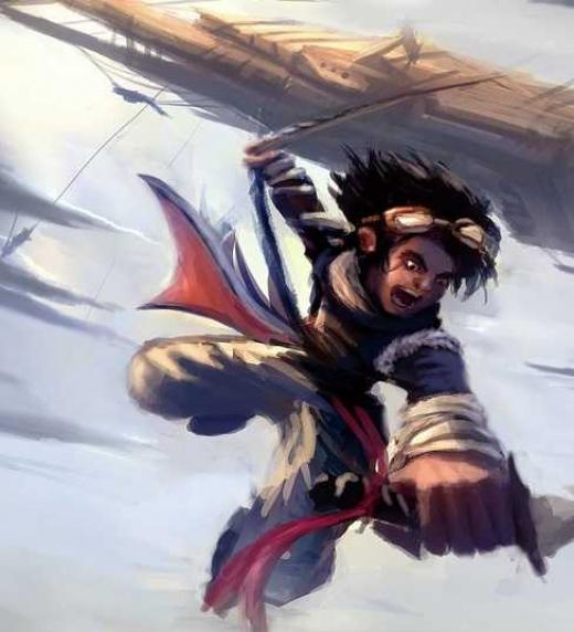 Mikael es el líder de una Villa del Aire y para impedir la destrucción de ésta tendrá que descender al infierno de la superficie