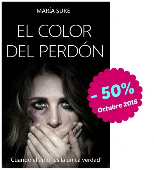 Durante el mes de octubre de 2016, El color del perdón estará en Amazon al increíble precio de 1,49€ ¡No te lo pierdas!