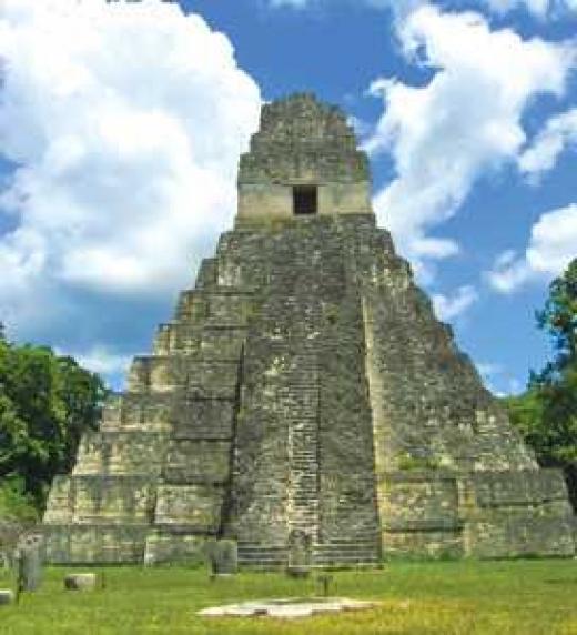 ¿Qué tienen en común la pirámide de Tikal en Guatemala y la Esfinge de Egipto?