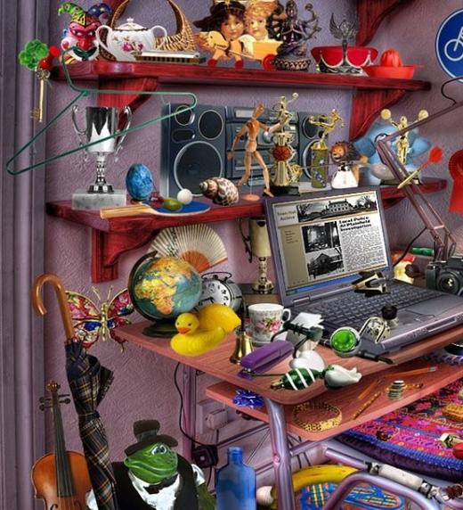 Muchas veces las habitaciones de los niños están desordenadas, como la de Carla, la protagonista infantil de esta novela.
