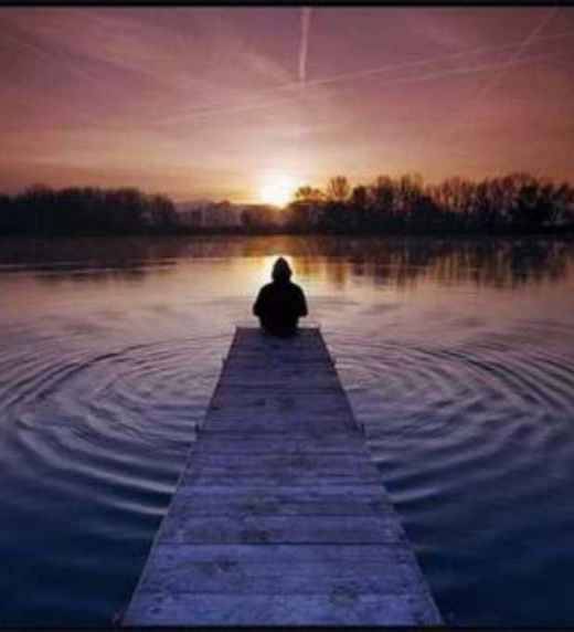 Cuando hay calma en tu interior, la adversidad sólo es parte del paisaje.