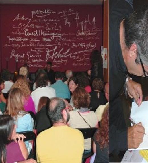 Presentación de La Otra Realidad en la librería Literanta, de Palma.