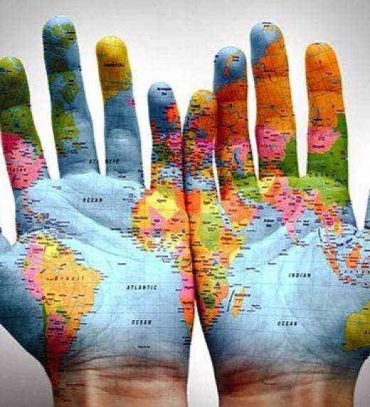 Les persones son con mapes a les mans, el reflex d