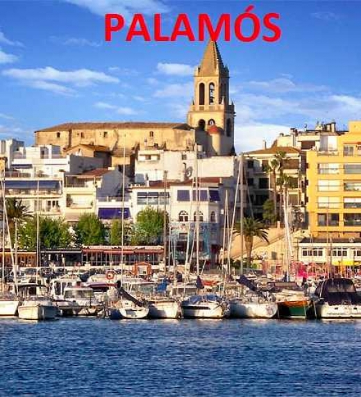 La petita ciutat portuària de Palamós és l