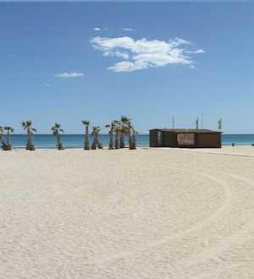 Vista de la Playa de San Juan Alicante
