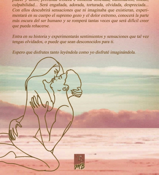 """Contraportada de la novela """"Escucha el viento de otoño - Volumen I"""" en su edición rústica."""