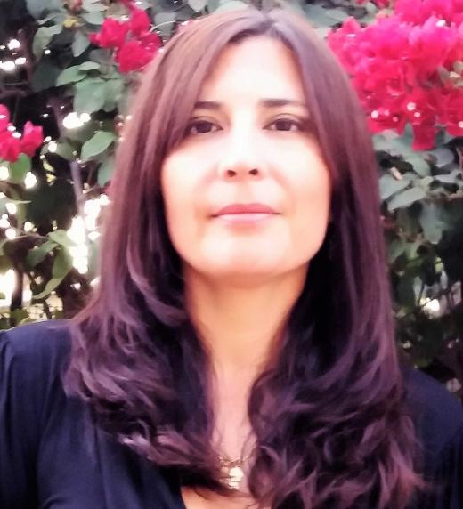 Mariela miño, autora de la novela.