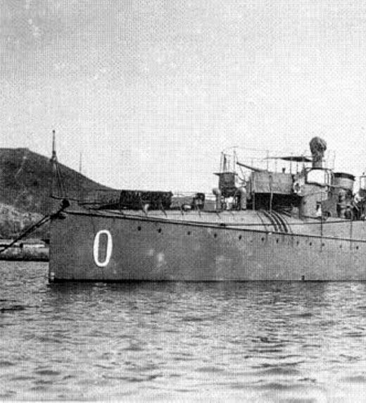 """El destructor """"OSADO"""", uno de los buques protagonistas de """"Plan de Escuadra"""""""