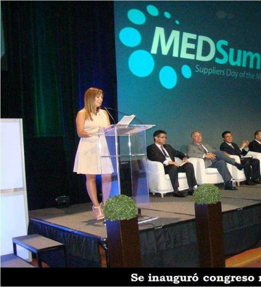 Congreso médico: comienza la ponencia.