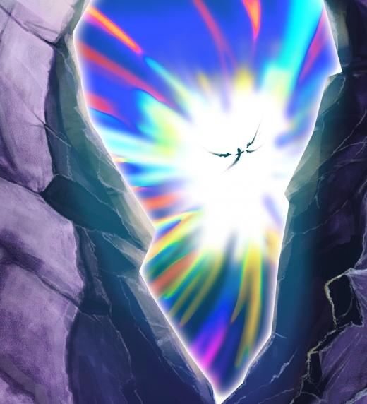 Usando trajes de Grafeno anti gravitacionales y propulsores de tobillos, los cuatro amigos cruzan el  túnel cuántico rumbo a la Puerta del Diablo, esta es única forma de volver en tiempo.