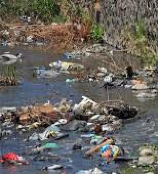 Plástico, desechos industriales, basura y población inculta hacen que peligre nuestra salud.