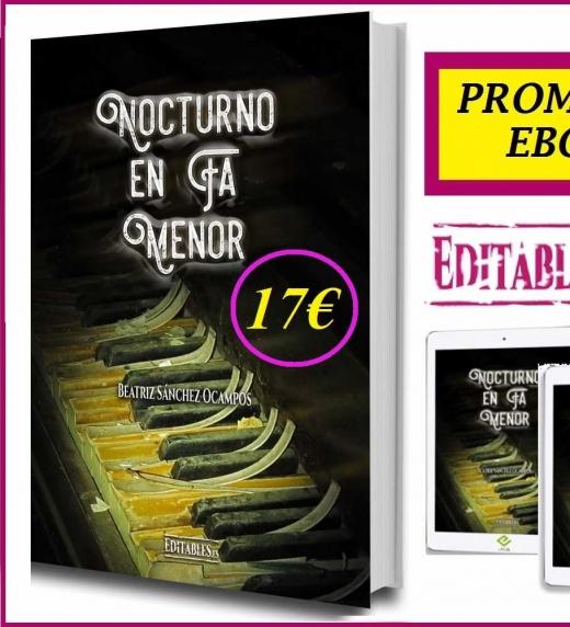 Precio de la novela en papel 17€ Promoción de verano: Ebook 3€ ¡Aprovéchala!