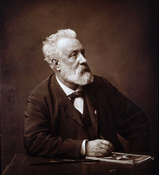Jules Verne, uno de los escritores tratados en el libro Un lector agradecido.
