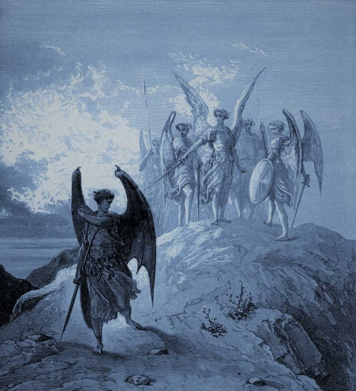 El Infierno, El Paraíso Perdido, John Milton. Romanticismo - El ángel rebelde