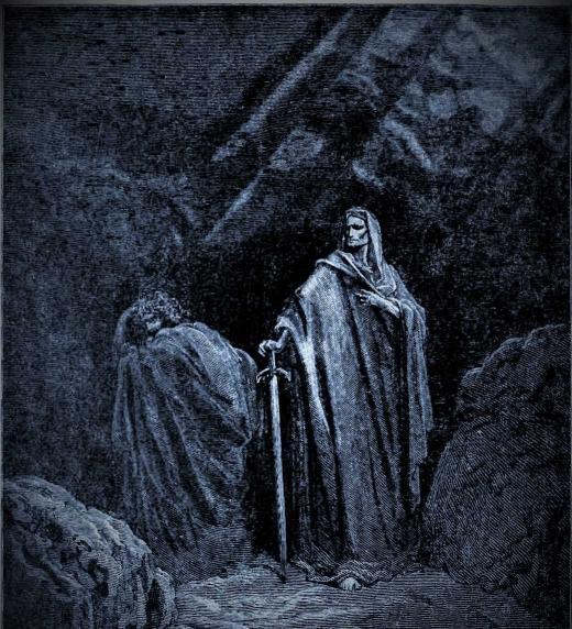 El Infierno, El Paraíso Perdido, John Milton. Romanticismo