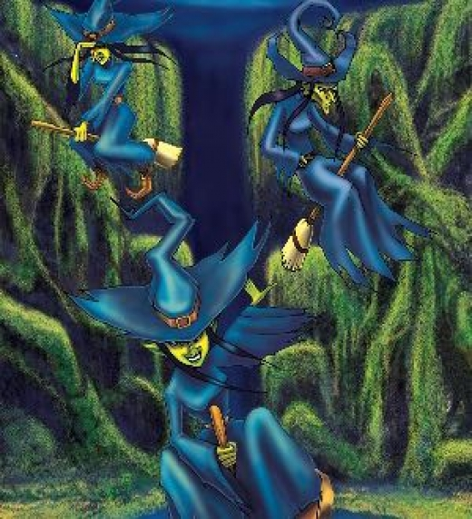Etreum sospecha que su plan está en peligro y pide ayuda a las Sajurb, quienes vuelan en busca de posibles intrusos.