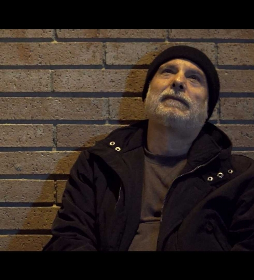 """Eugenio es uno de los dos protagonistas de """"Las Muletas del Quijote"""", un mendigo de avanzada edad que tiene una visión muy pesimista sobre el mundo."""