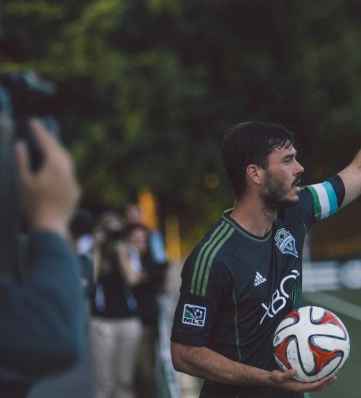 Fotografía futbolista